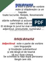 Definitii Distractive_partile Vorbirii