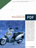 Datos Técnicos de La Honda@125