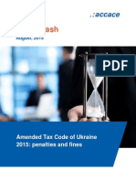 Amended Tax Code of Ukraine 2015