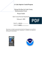 Plan and Design Pavilion for Lake County Demonstration Forest (306-10-10)