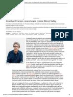 'Purity'_ Jonathan Franzen, Una Cruzada Contra Silicon Valley _ EL PAÍS Semanal _ EL PAÍS