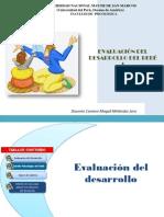 Evaluacion de Desarrollo I