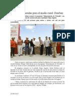 10.08.2014 Comunicado Mejores Viviendas Para El Medio Rural Esteban