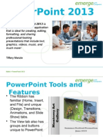 powerpoint2013 exercise
