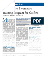 Plyometrics for Golfers