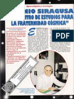 Centro de Estudios Para La Fraternidad Cosmica - Eugenio Siragusa y El Centro de Estudios Para La Fraternidad Cosmica R-006 Mon Nº020 - Mas Alla de La Ciencia - Vicufo2