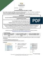 Sorbonne Nouvelle - Notice Des Inscriptions Pédagogiques