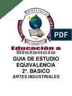 2B Equivalencia Artes Industriales