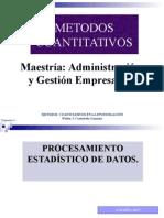 Estadistica Descriptiva Metodos Cuantitativos