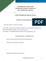 ATPS-Politica de Seguridade Social-2015