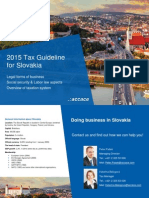2015 Tax Guideline for Slovakia