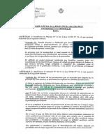 Proyecto de Ley Nº 113-15 (Pcia del Chubut)