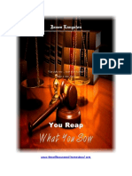 You Reap What You Sow (Book Preview)