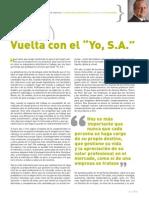 Vuelta Con El Yo, S.a - Executive Excellence - Septiembre 2015