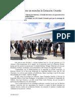 20.08.2014 Comunicado Esteban Pone en Marcha La Estación Oriente