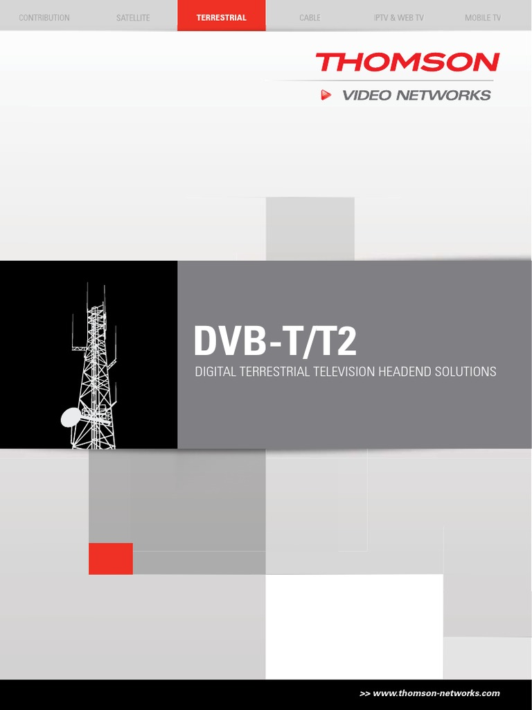 Th Vn Dvb T T2 Brochure Cdt5105d 1 High Definition Television Pictnetworkdiagramregionalcableheadenddiagram Multiplexing