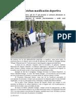 21.08.2014 Comunicado Detona Esteban Masificación Deportiva