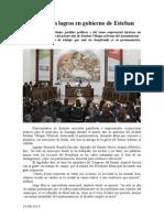 24.08.2014 Comunicado Reconocen Logros en Gobierno de Esteban