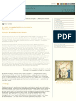 Livro Da Lamentação Da Filosofia-Ramon Llull
