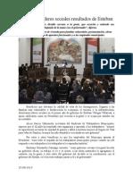 25.08.2014 Comunicado Respaldan Líderes Sociales Resultados de Esteban