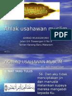14 Akhlak Usahawan Muslim