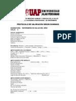 13.-PROTOCOLO DE VALORACION POR DOMINIOS NIÑO-2