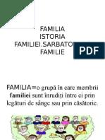 Familia- Istorie, IV