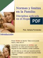 Normas y límites en la Familia
