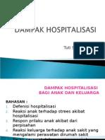 Dampak hospitalisasi