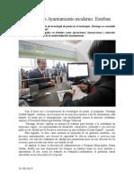 31.08.2014 Comunicado Durango, Un Ayuntamiento Moderno Esteban