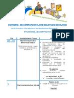 Programa -Outubro_ Mês Internacional das Bibliotecas Escolares 2015