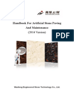 Handbook for Engineered Stone Paving and Maintenance(2014)
