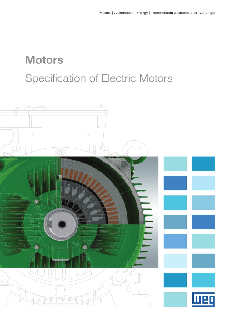 weg specification of electric motors 50039409 manual english ac rh scribd com