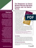 Canada (2009) - Emergence of Cross Border Regions