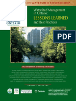 Conservation Ontario (2004) - Watershed Management Best Practices