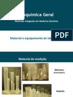Material e Equipamento de Laboratório