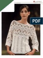 #683 W Blusa Crochet