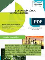 Aspectos Ambientales de La Energía Eólica