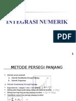 Integrasi Persegi Panjang Trapesium