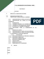 Analisis Inversión Societaria 2005