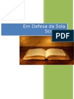Em Defesa Da Sola Scriptura - eBook