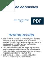 Tema 7 - Toma de Decisiones