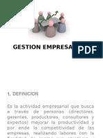 GESTION EMPRESARIAL presentacion