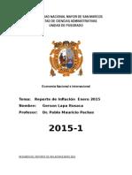 Tarea 1 Reporte de Inflacion Enero 2015.doc
