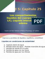 Fisiologia Capitulo 25 Liquidos compartimentales