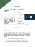 Carangdang v. de Guzman (Remedial Law)
