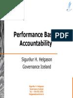 PerformanceBasedAccountability (Good Reference - Kuliah IV)