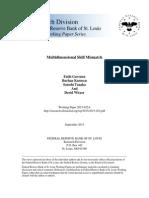 Multidimensional Skill Mismatch.pdf
