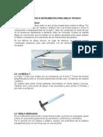 Herramientas o Instrumentos Para Dibujo Tecnico