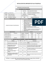 Informe de Instalacion de Limpiador de Faja-Toquepala Final